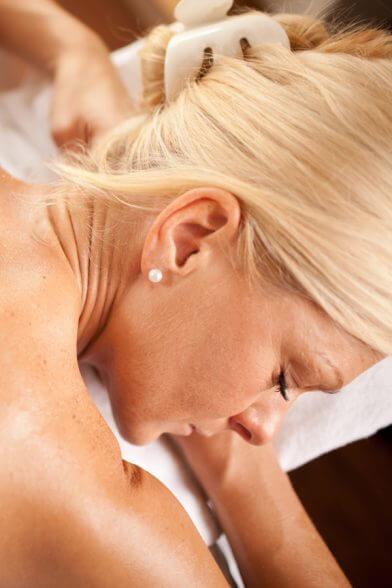 Massage- und Kosmetikabteilung im Ballonhotel