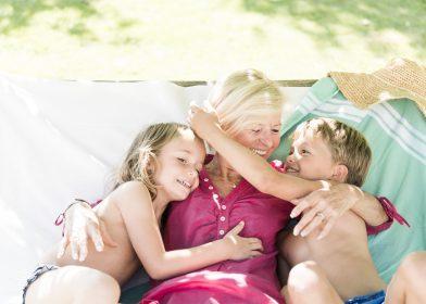 Großeltern-Enkerl-Sommerurlaub im Ballonhotel