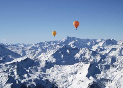 Alpenballonfahrt