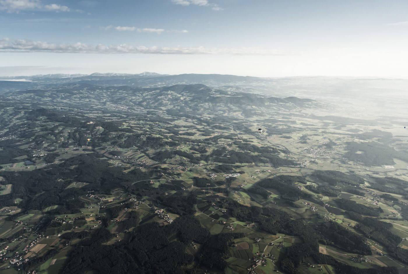Landschaft, Oststeiermark, Apfelland