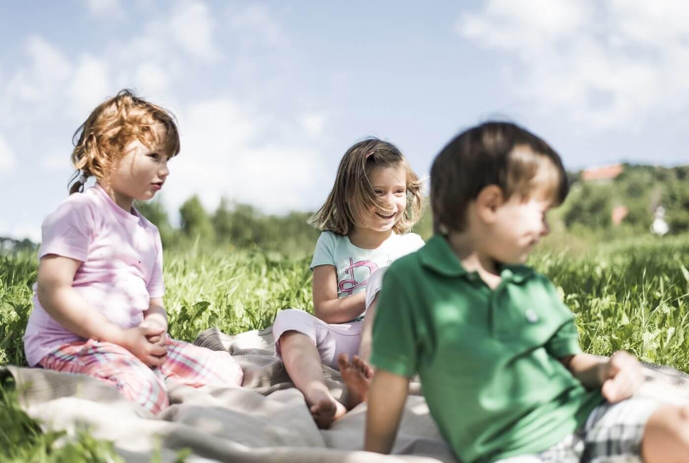 Sommer, Kinder, Familie