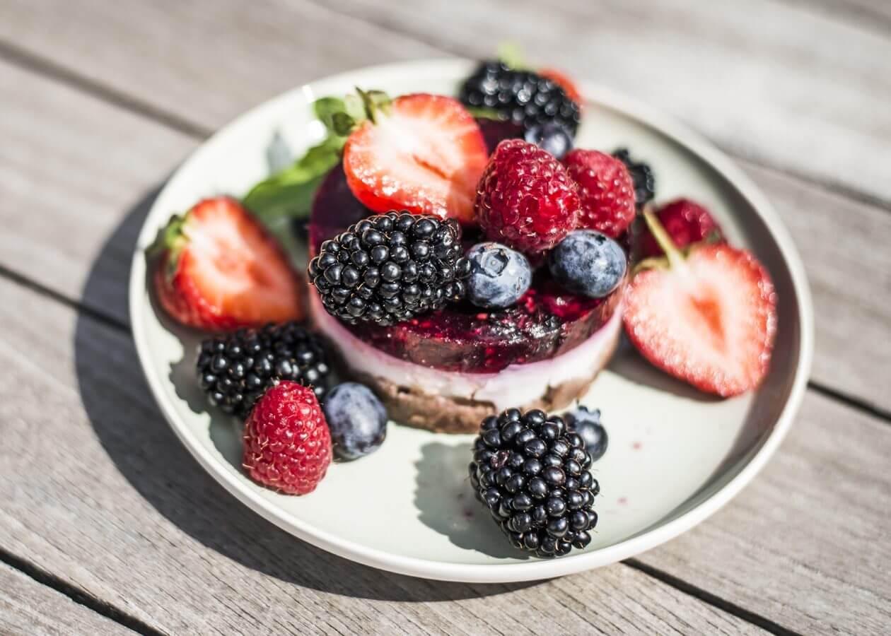 Dessert, Beeren