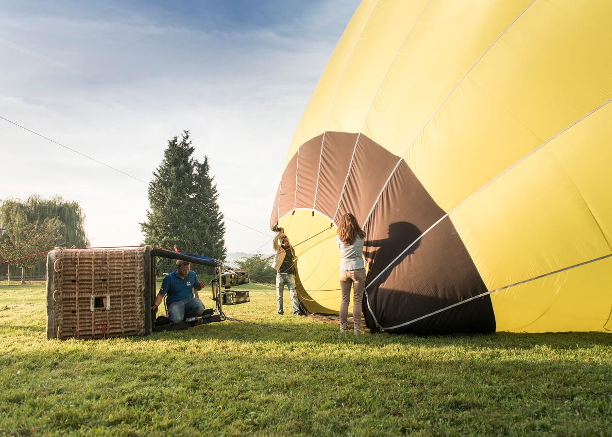 Ballon, Aufbau, Apfelland