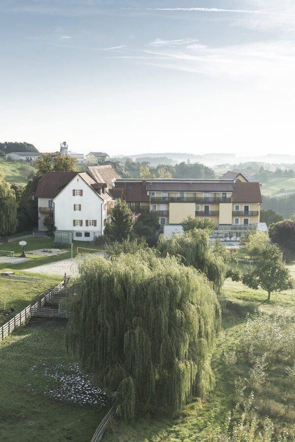 Hotel, Sommer, Apfelland, Oststeiermark