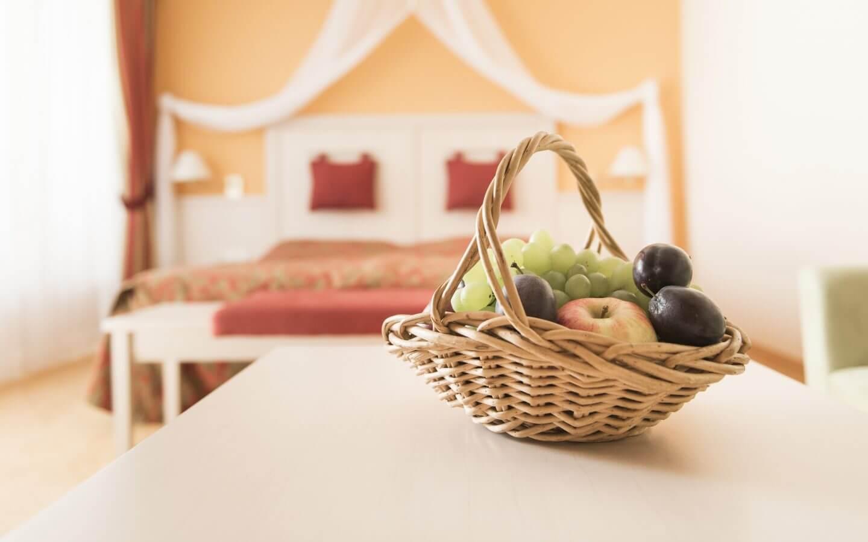 Obstkorb, Zimmer