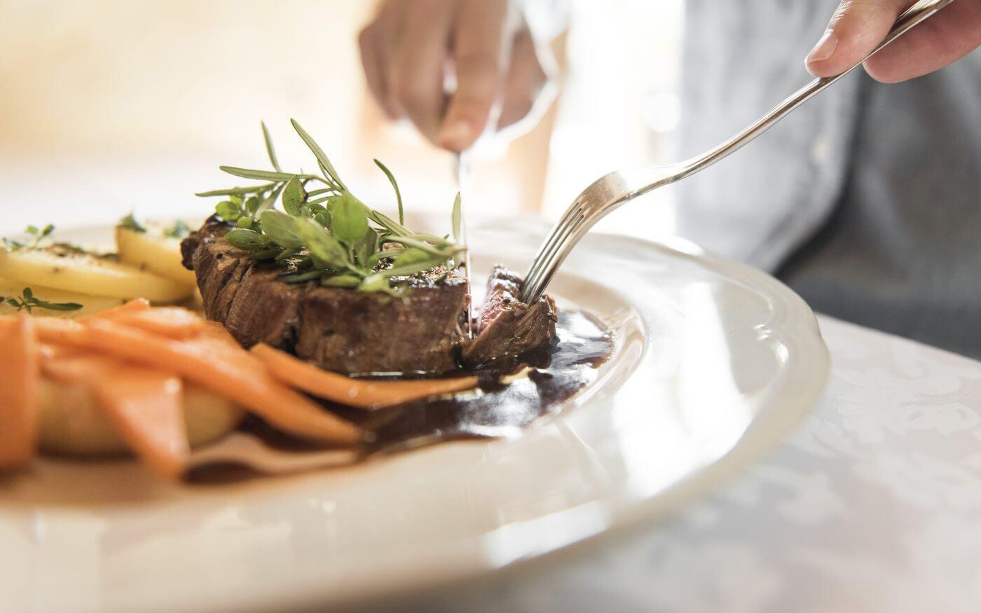Steak, Hauptspeise, Kulinarik