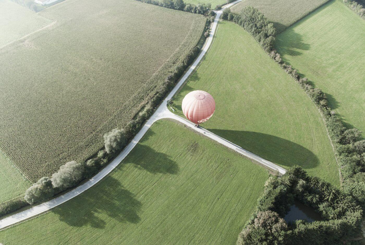 Ballon, Landschaft,