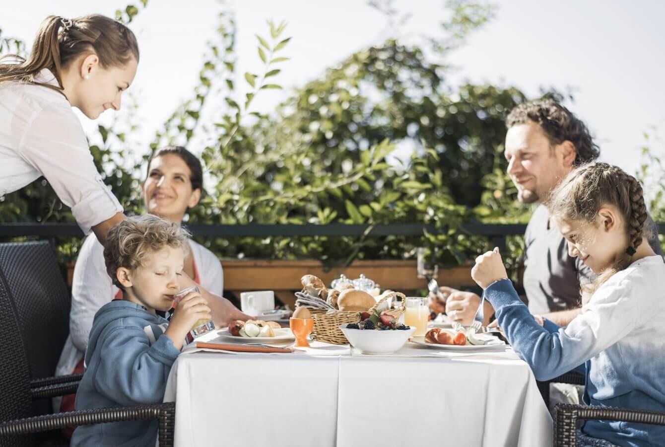 Familie, Frühstück