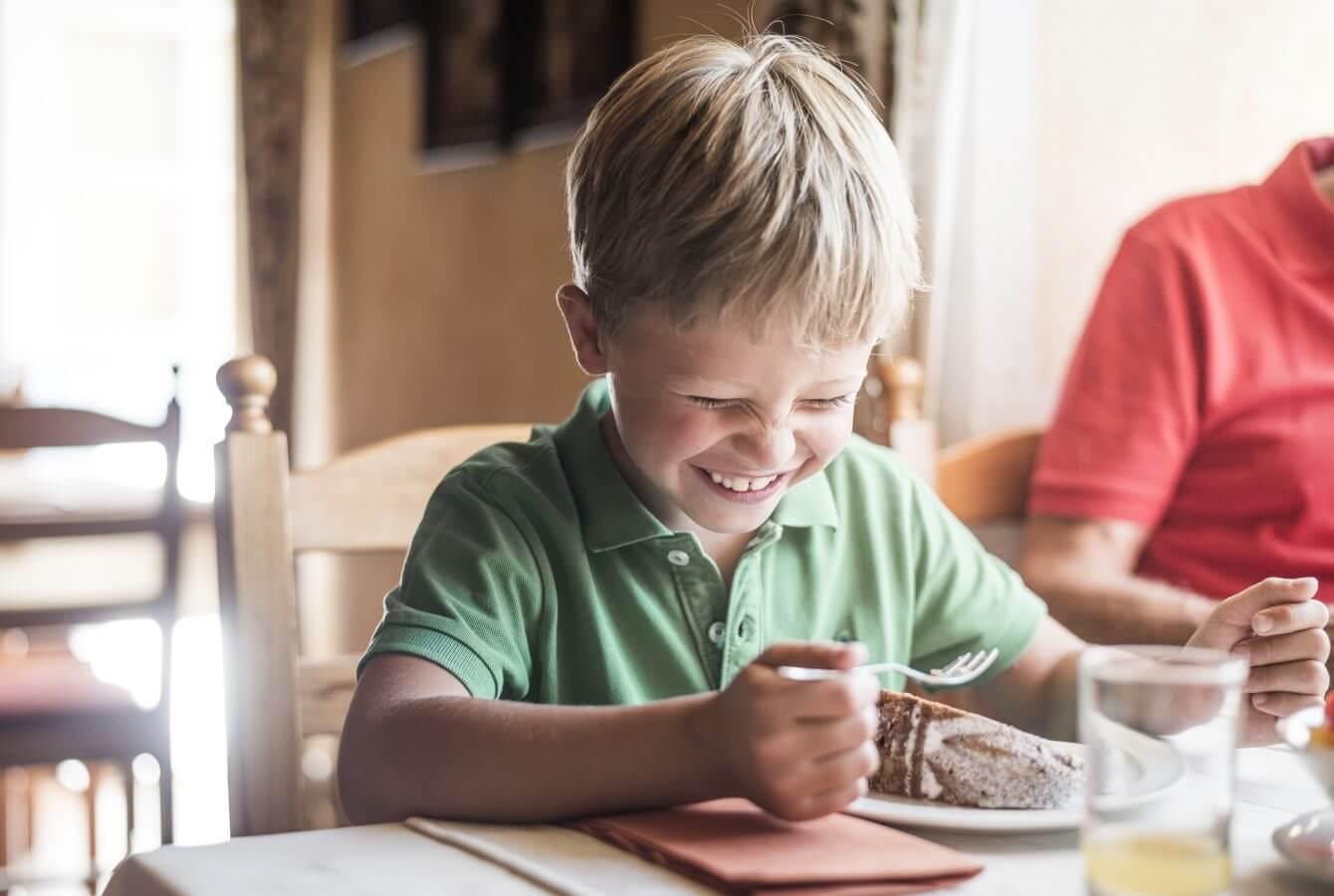 Kind, Kuchen, Mehlspeise