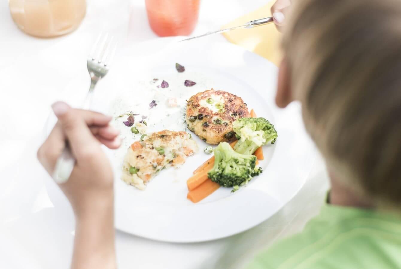 Kinderspeisen, Gemüse