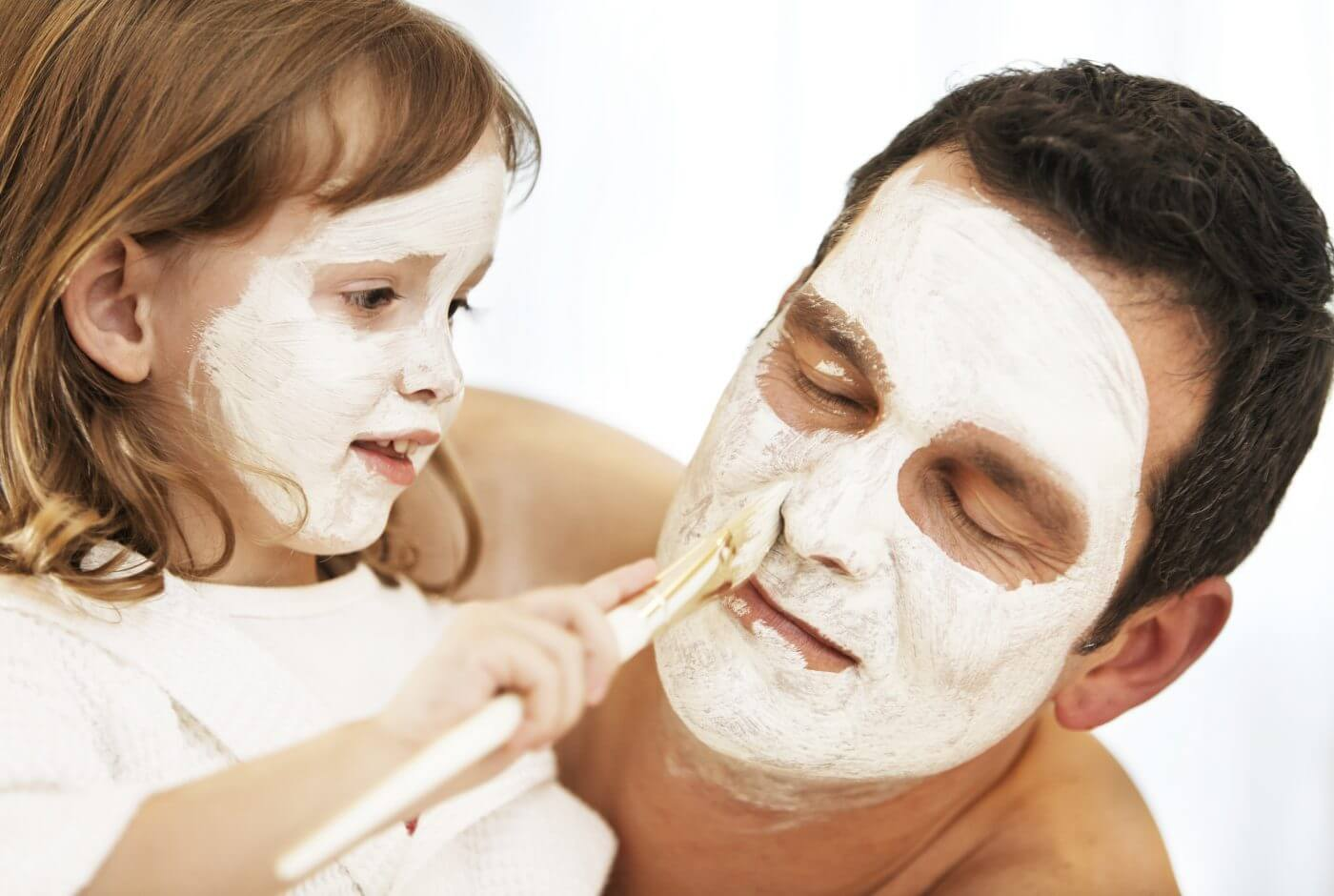 Maske, Wellness, Kosmetik, Kinder