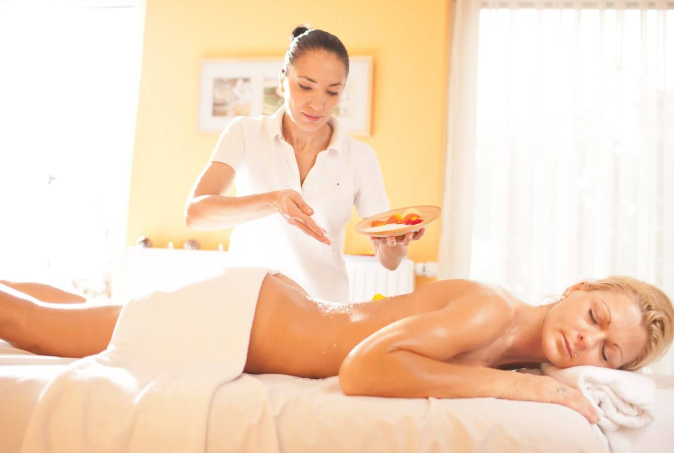 Massage, Peeling, Wellness