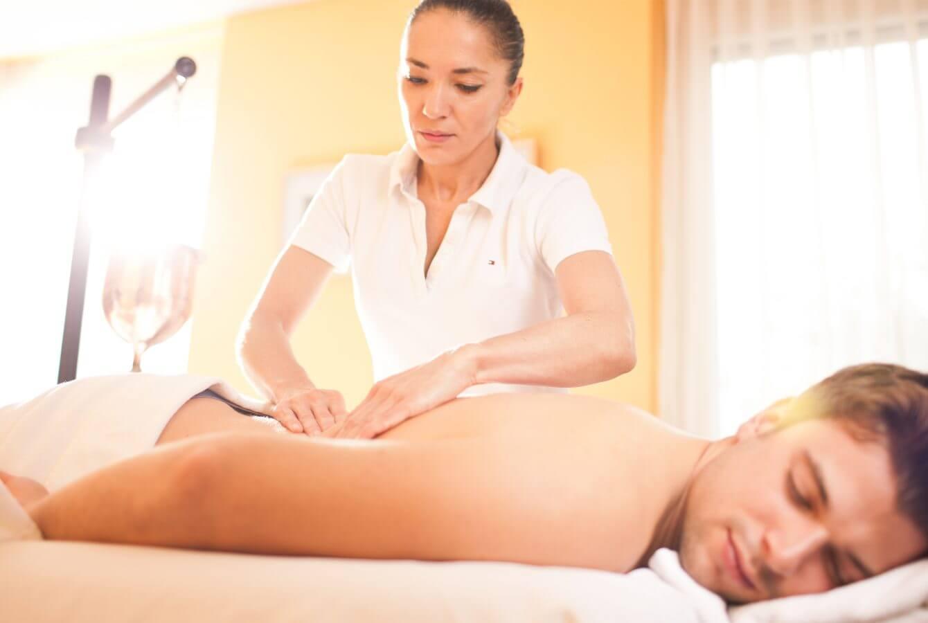 Massage, Erholung, Entspannung