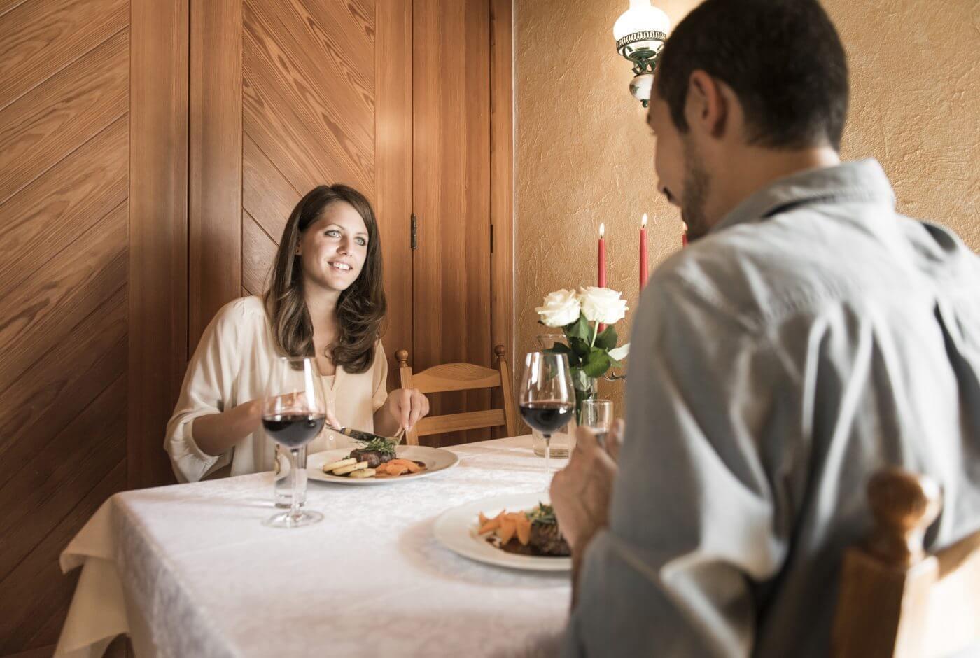 Romantik, Dinner