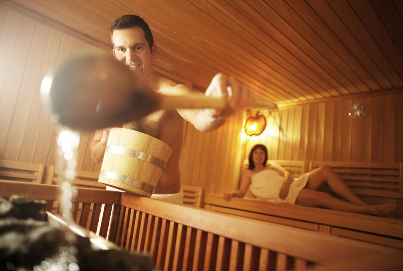 Sauna, Wellness, Spa, Erholung