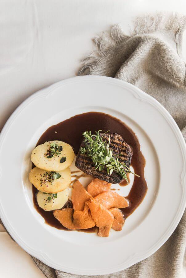 Steak im Genusshotel in der Steiermark - Ballonhotel Thaller