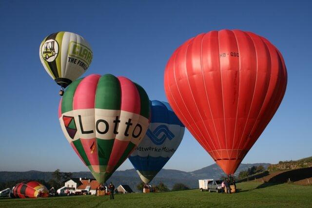 Ballon, Herbst, Hofkirchen