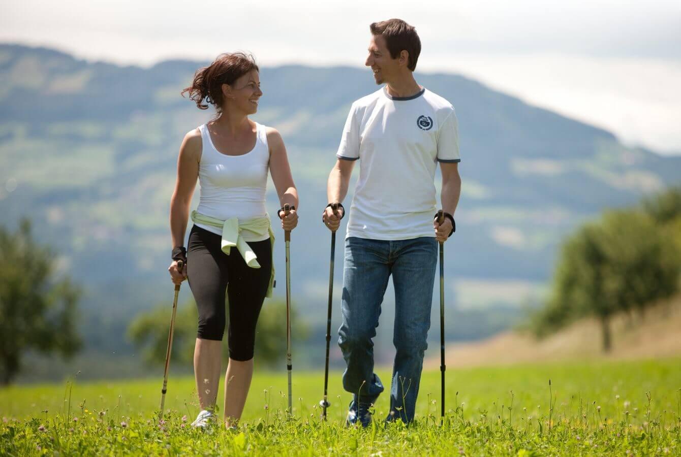 Walkingstrecken neben dem Wanderhotel in der Steiermark - Ballonhotel Thaller