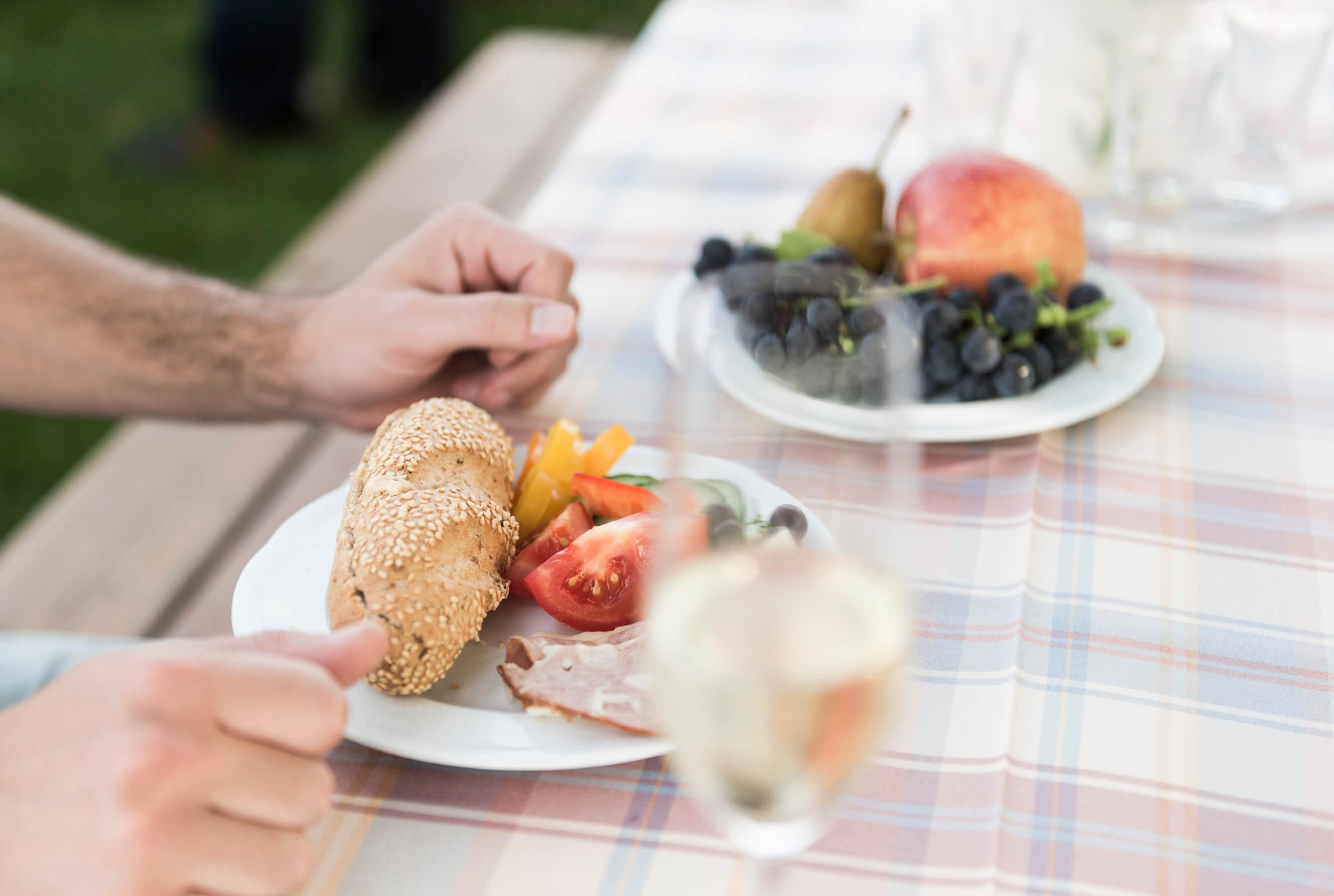 Picknick, Frühstück