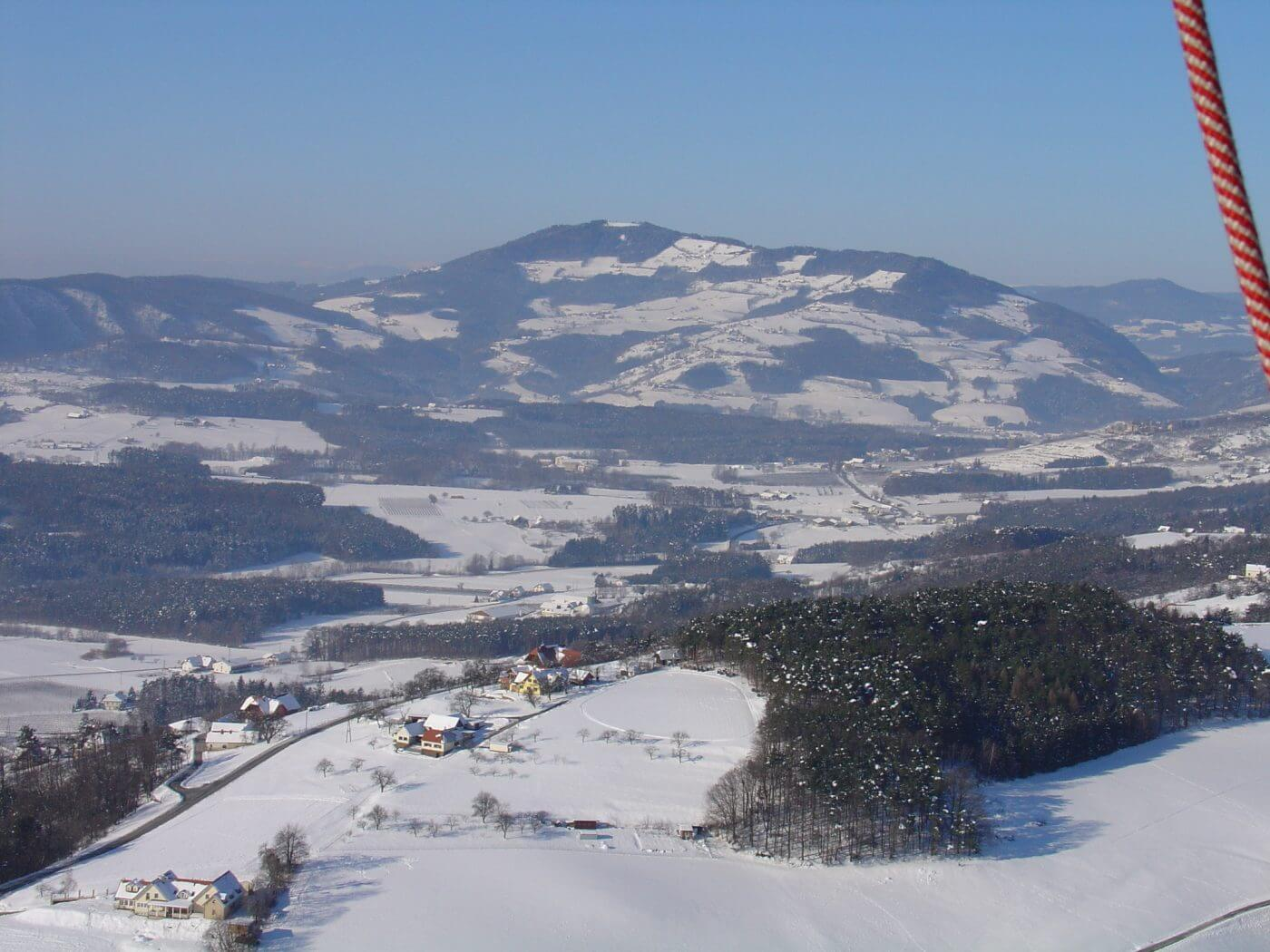 Winter, Hofkirchen, Landschaft