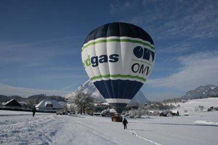 Winter Ballon Alpen