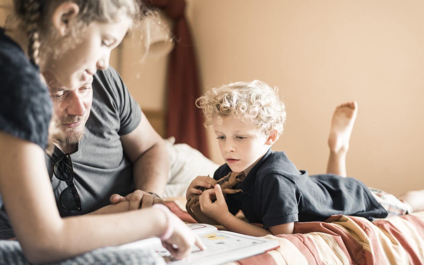 Familie, Kinder, Lesen