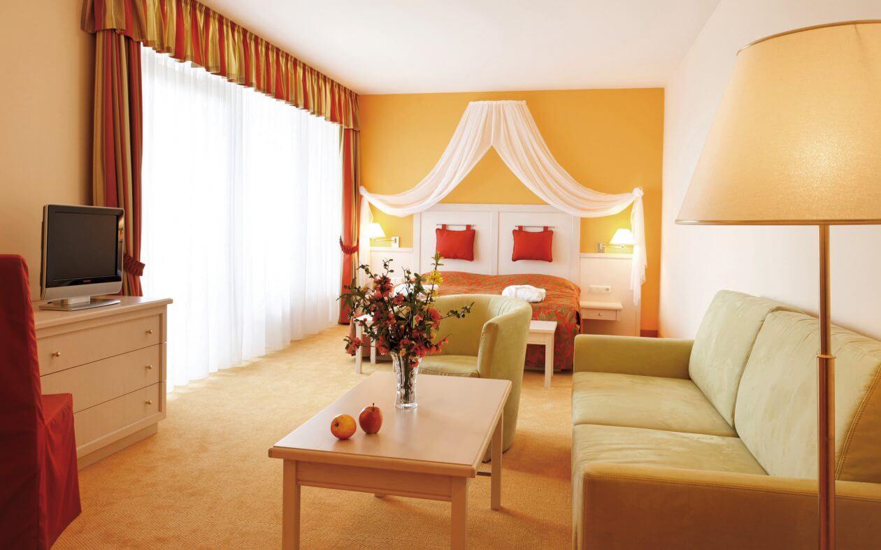 Romantikzimmer in der Steiermark - Ballonhotel Thaller