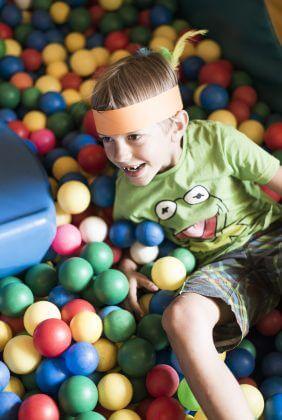 Ballpool, Kind, Spaß