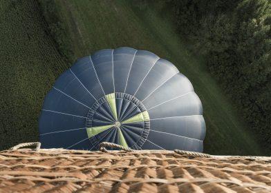 ballon korb oben