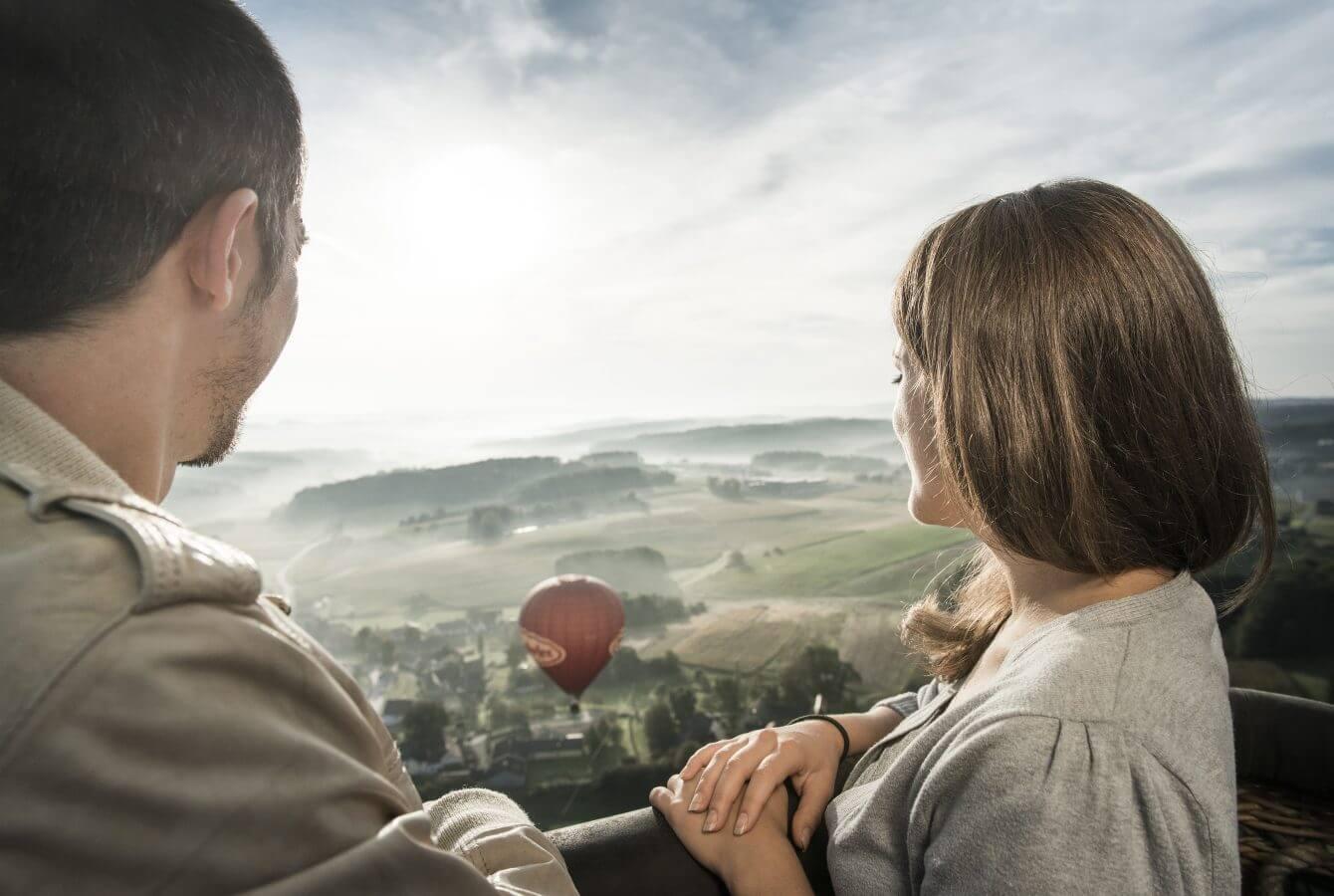 Ballon, Paar, Region