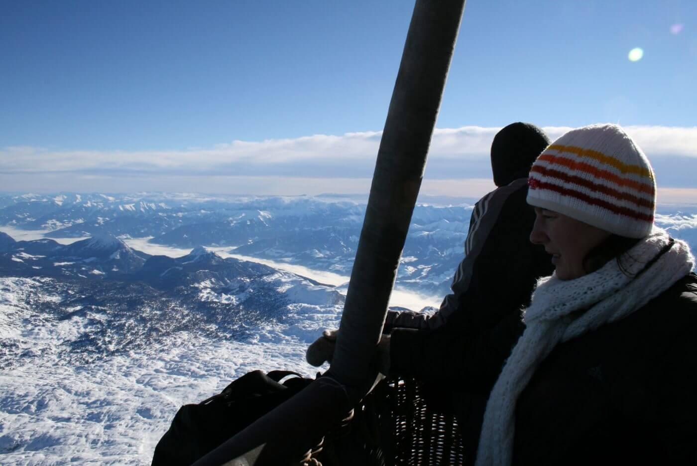 Alpenballonfahrt mit Ballonfahrten Thaller
