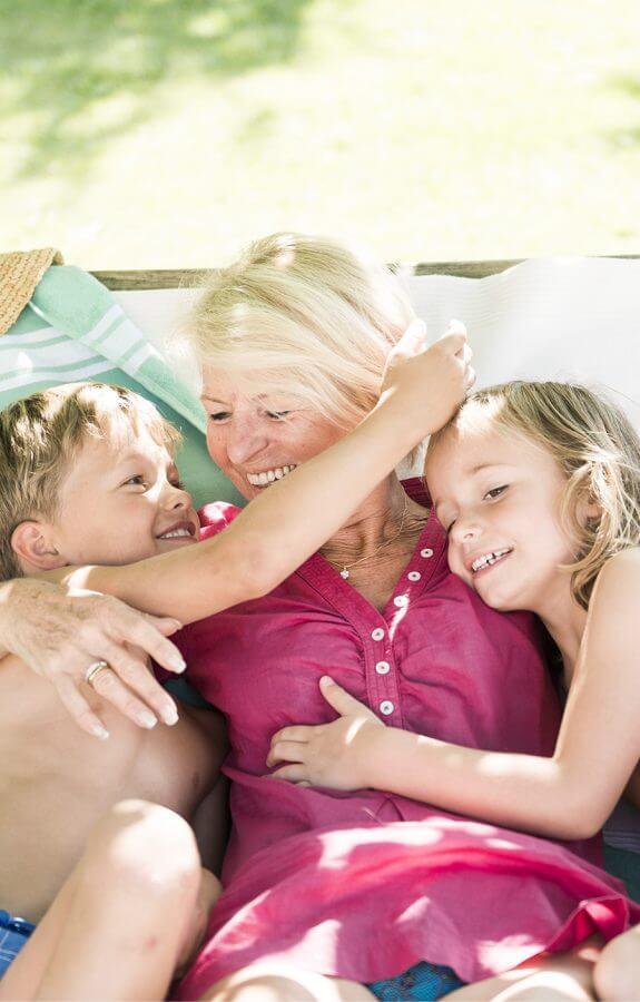 Urlaub, Enkelkinder